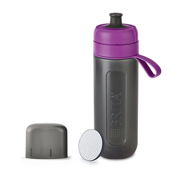 fill&go Active -suodatinpullo lila